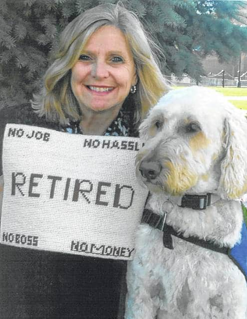 "Anita Barton is ready for ""no job,"" ""no hassels,"" ""no boss"" and ""no money"" as she begins her retirement from Sidney City Schools."