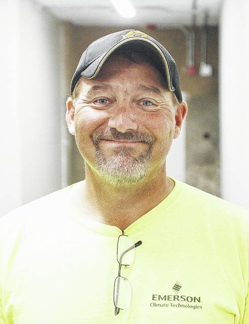 """Chuck Westerbeck, of Sidney. """"It's huge. It takes a lot of people to keep a community together."""""""