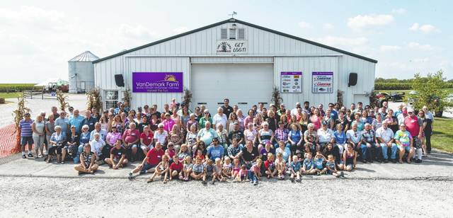 "Approximately 140 people were in attendance at this year's Helman family reunion. ""It was a beautiful day for it,"" said Karen Helman. ""There was so much to do. Everyone had a great time."""
