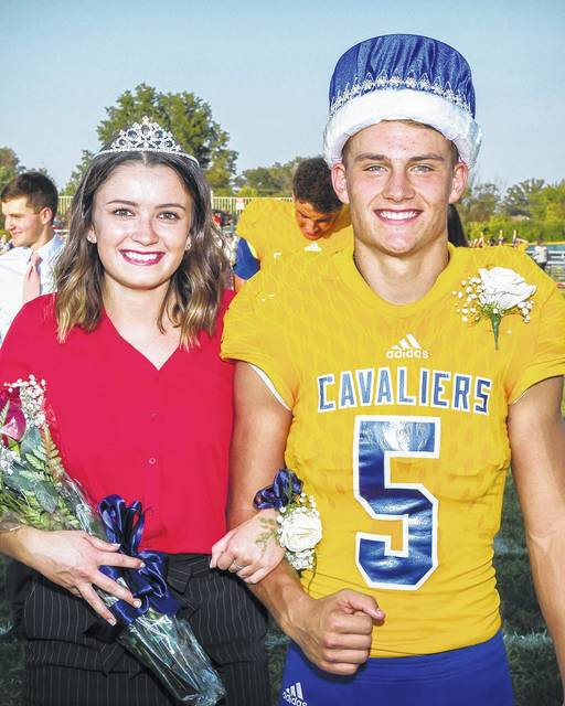 Lehman Catholic High School crowned Maria Adams, daughter of John and Tara Adams, of Sidney, and Brandon Barhorst, son of Kurt and Connie Barhorst, of Sidney, the queen and king of the 2017 homecoming. The kng and queen presided over the homecoming dance The royal couple were named as part of the Under the Lights III Homecoming - Alumni Celebration held at LCHS.