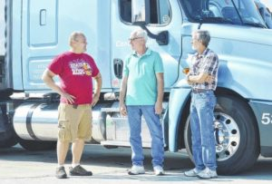 Four recognized for 1, 2 million safe driving miles