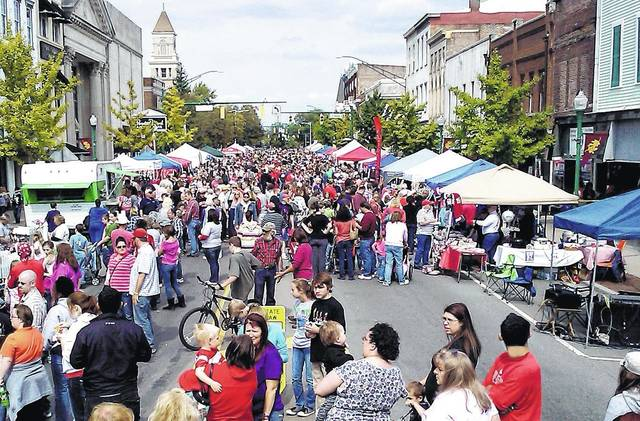 The 11th Annual Simon Kenton Chili Cook-Off Festival will be held Sept. 23 at Monument Square in Urbana.