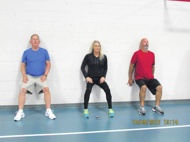 A4 Exercise Chart: Parkinsons flxibility exercise program