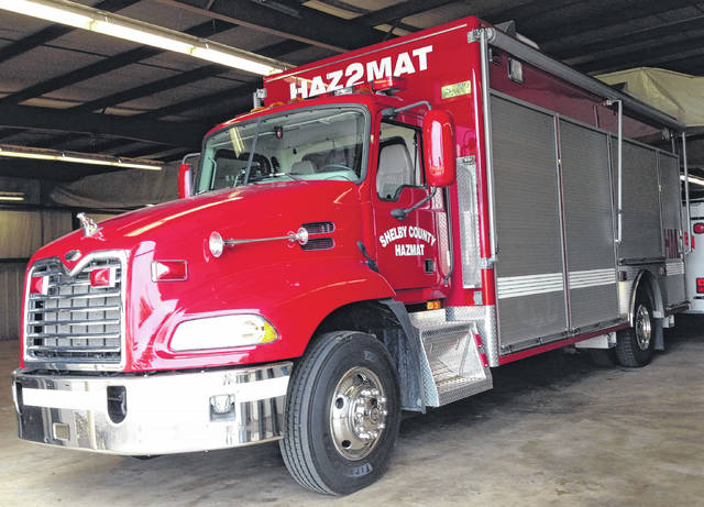 The open house for the public to view the new Shelby County HazMat 2 vehicle will be on Tuesday, Nov. 7, from 9 to 10:30 a.m. at Sidney Fire Department Station 1, 222 W. Poplar St.