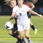 Lehman Catholic girls soccer opens tourney play with 7-0 win over Franklin-Monroe