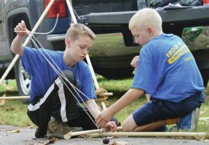 Scouts enjoy Two Rivers Fall Camporee