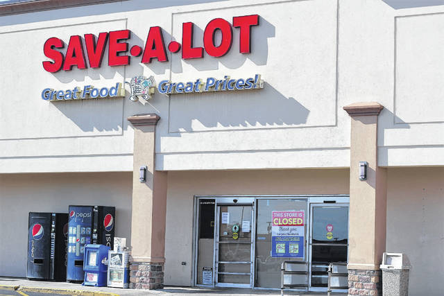 The Sidney Save-A-Lot store closed for business Sunday. Calls to the company's corporate office were not returned Thursday or Friday.