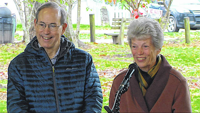 Former Ohio Gov. Bob Taft and first lady Hope Taft received the ODNR Hall of Fame Award.