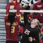 Division IV volleyball: Jackson Center, Russia happy with seasons