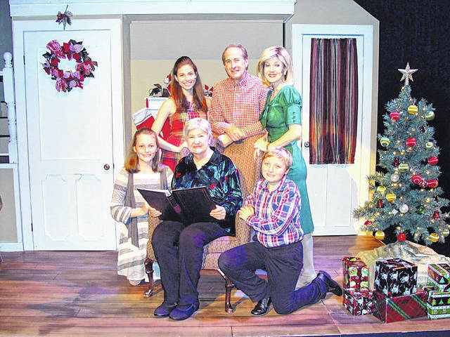 "The cast of ""Timeless Memories of Christmas"" perform a song in the production currently onstage at La Comedia Dinner Theatre in Springboro."