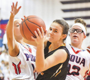 Girls basketball: Bad third quarter hampers Sidney against Piqua