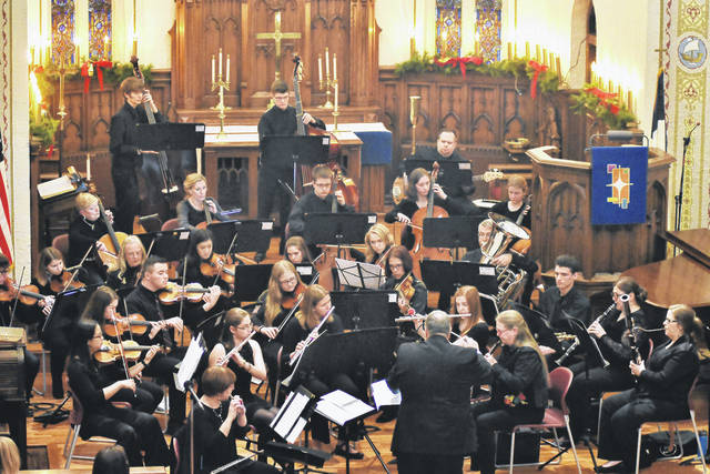 """COUNTDOWN TO CHRISTMAS: There are five days until Christmas. The Upper Valley Community Orchestra performs its winter concert """"Through a Child's Eye"""" at St. Johns Lutheran Church Sunday, Dec. 17."""