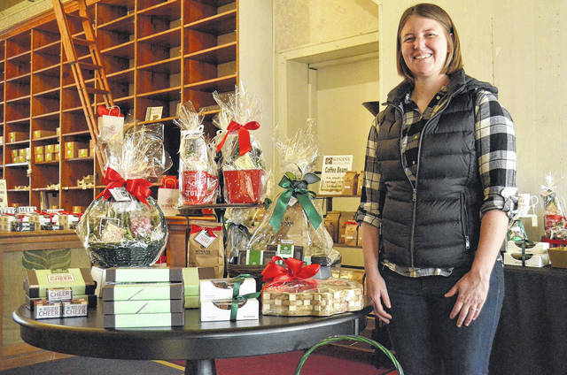 Amy Ambrose is hopeful the Winans Chocolates and Coffee store will be ready to open at 24 E. Auglaize St., Wapakoneta, by Easter. Renovations begin in January. Until it opens, Winans will be open for holiday shopping on Thursdays, Fridays and Saturdays through Dec. 23.