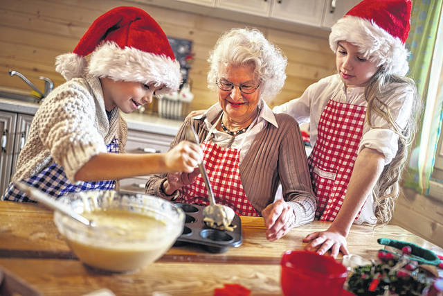 Bring your family together by starting a new Christmas tradition: baking cookies.