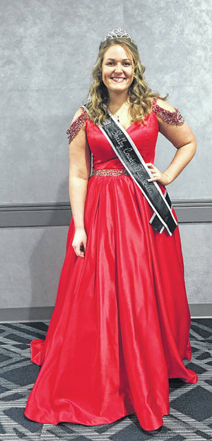 "2017 Shelby County Fair Queen Grace Homan, of Botkins, participated in the 2018 Ohio Fairs Queen Pageant at the 2018 Ohio Fair Managers Convention at the Greater Columbus Convention Center on Thursday, Jan. 4, 2018. Homan was among more than 75 county and independent fair queens involved in the contest. Though she did not reach the Top 16 round, she said, ""It was a good experience and I thought my interview and everything went well."" Homan was the youngest contestant in this year's pageant. The winner of the pageant was Morgan McCutcheon of Licking County and the Hartford Independent Fair."