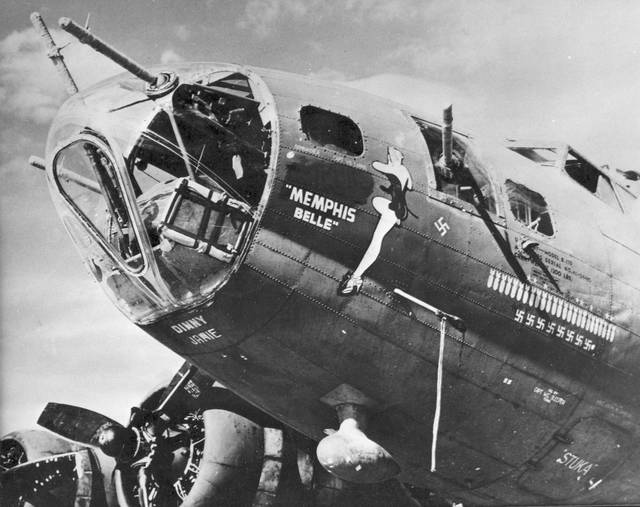 """The Boeing B-17F-10-BO """"Memphis Belle"""" has been under restoration for 13 years and will open to the public in May at the National Museum of the U.S. Air Force in Fairborn."""