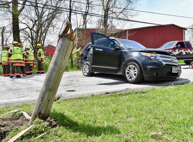 Two-car crash closes state Route 29 in Pasco - Sidney Daily News