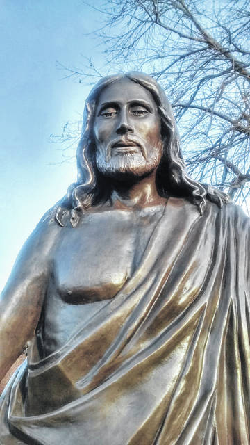 The blessing of the new Jesus statue will be held Saturday, May 19, at Maria Stein Shrine of the Holy Relics.