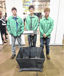 Loramie FFA members place second