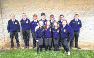 Fort Loramie FFA attends state convention