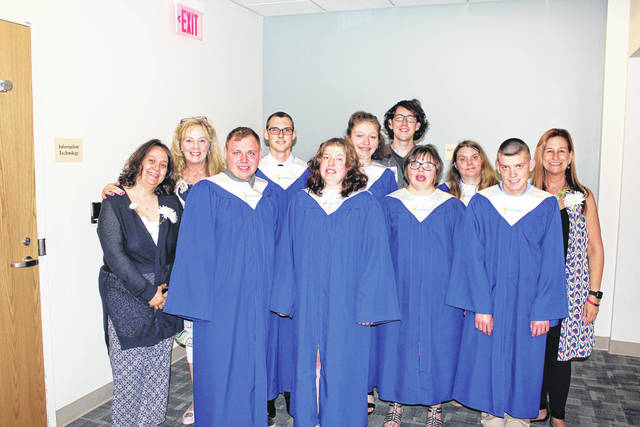Seven area students graduated from the Upper Valley Project SEARCH program at Upper Valley Medical Center (UVMC) on May 11.