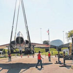 Skylancer 'flies' back to Armstrong Museum