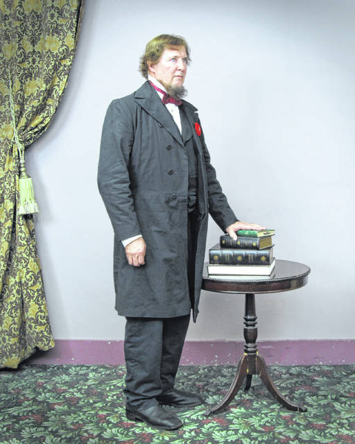 Van Wert native David Walker will provide a first person impression of Jefferson Davis at Sidney, Ohio's Civil War Living History Weekend on Saturday, September 15. Davis was the first and only president of the Confederate States of America.