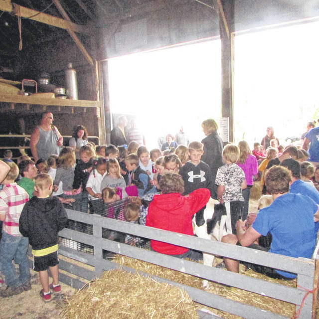 Students from the Darke, Miami and Shelby counties enjoyed the petting zoo, which featured goats, baby chicks, puppies and more.