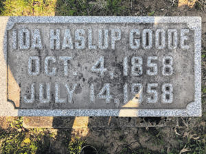 Ida Haslup Goode: A woman ahead of her time