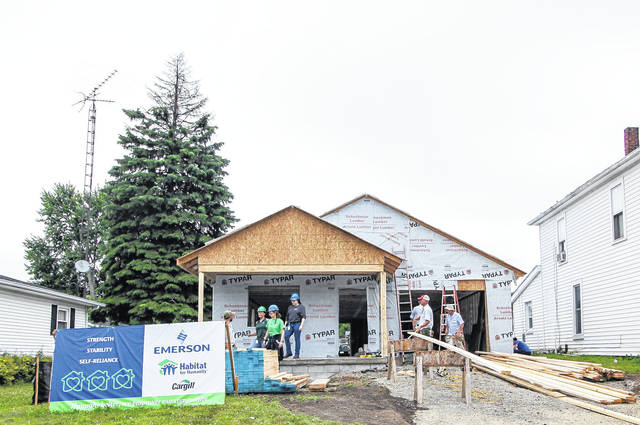 It's coming along - Sidney Daily News
