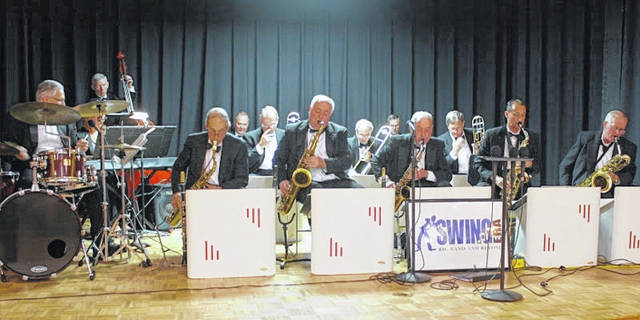 The Swing Era Band will perform on the Sidney courtsquare in a free concert, Friday, June 15.