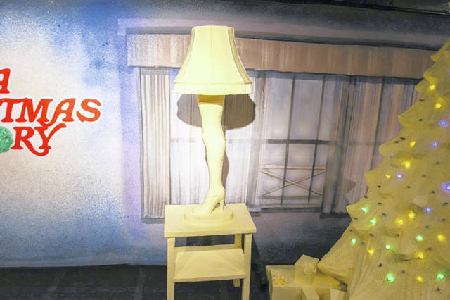 the 35th anniversary of the classic holiday film a christmas story which was filmed in cleveland is honored in butter at the 2018 ohio state fair - Where Was The Christmas Story Filmed