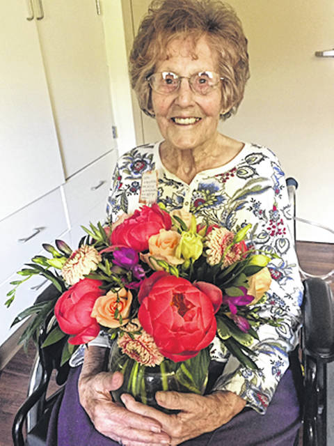 Erna Gierhart will celebrate her 100th birthday, Aug. 3.