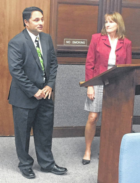 James Vagnone, Sidney's new code enforcement officer, was introduced to Sidney City Council by Community Development Director Barbara Dulworth during Monday evening's meeting. Vagnone joined Sidney city staff on July 16.