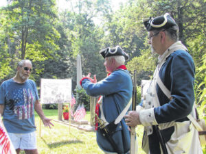 Group commemorates Revolutionary War soldier