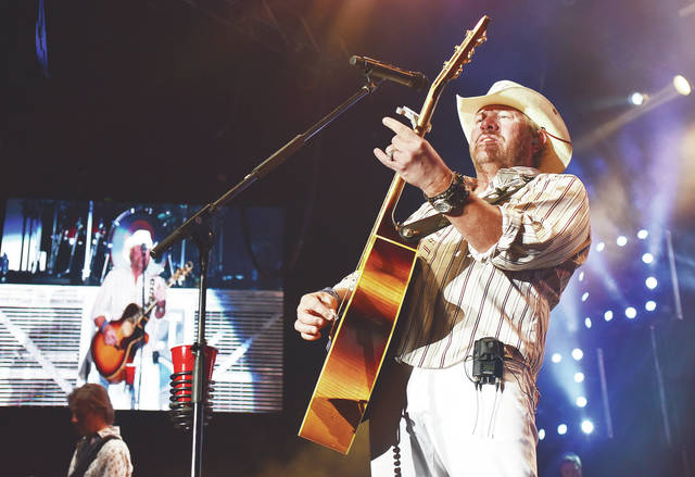 Toby Keith performs at Country Concert Thursday, July 5.
