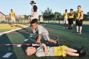 "Photos: Sidney hosts ""Friday Night Lights"" elementary camp"