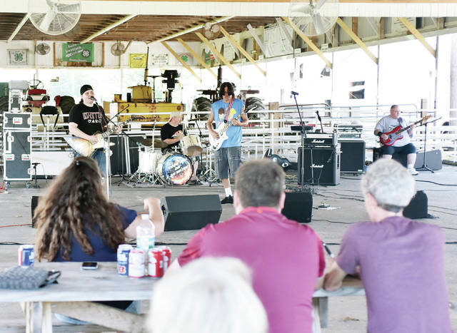 Come Hell or High Water performs at the event Shelby County Veteran Appreciation Day at the Shelby County Fairgrounds Saturday, Aug. 11.