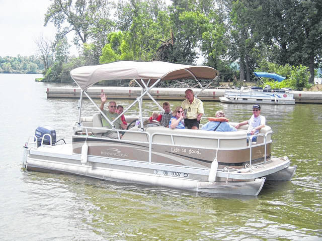 The Lake Loramie Heritage Museum will sponsor the Sixth Annual Free Pontoon Boat Rides on Saturday, Aug. 11, 2018, from 1 to 4 p.m., at Lake Loramie.