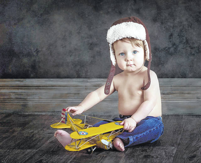"""""""Future Flyboy,"""" a photo by Rhonda Cavender, of Picture Perfect Photos & Design in Sidney, has been accepted for an international exhibit in Atlanta."""
