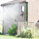 House fire under control