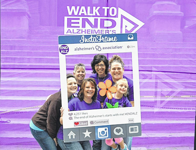 The Walk to End Alzheimer's will be held Sept. 22 in Sidney.