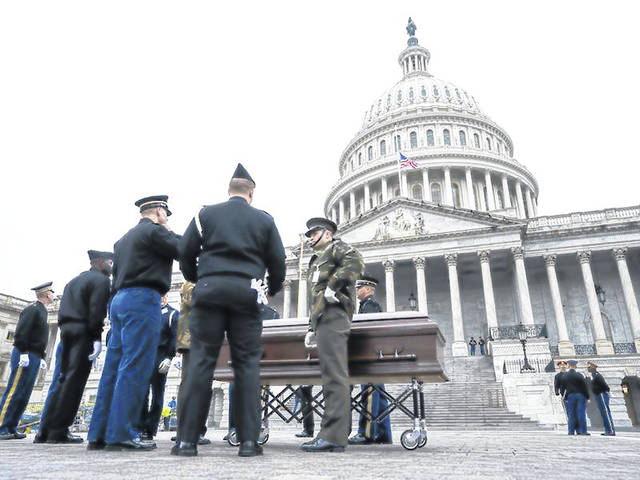 Sidney men part of Bush funeral - Sidney Daily News
